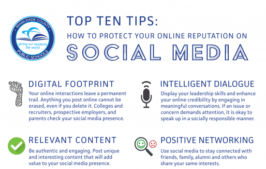 Digital Citizenship – Top Ten Tips