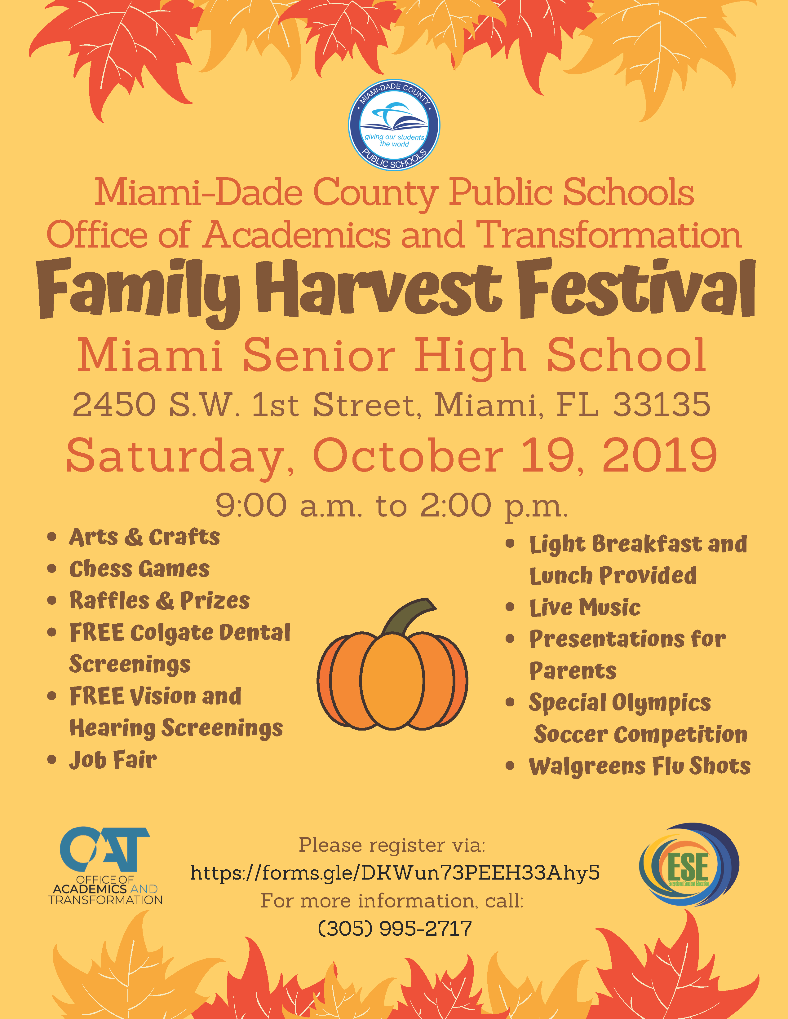 Family Harvest Festival @ Miami Senior High School | Miami | Florida | United States
