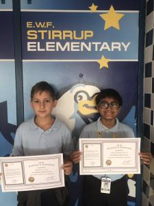 Congratulations to these fantastic mathematicians for earning a perfect score on the FSA last year and receiving special recognition
